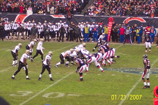 Saints on Offense