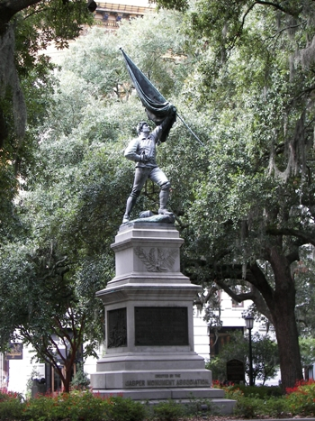 Monument to Sergeant Jasper, Revolutionary War Hero